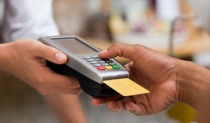 Payment processor for a business