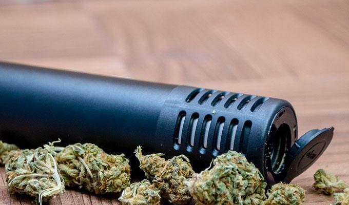 arizer air 2 with cannabis