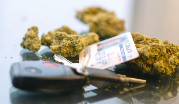 Car keys and cannabis
